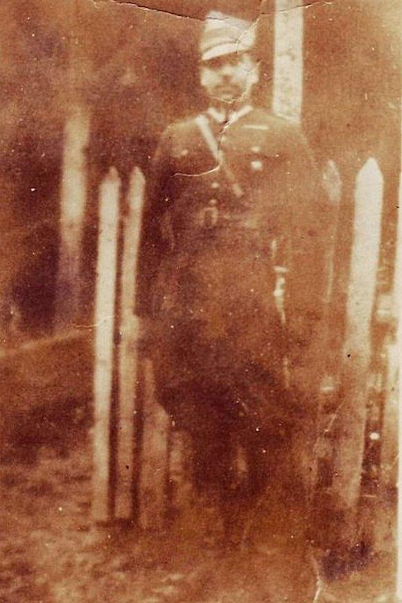 Kapitan Stanisław Dąbkowski ps. Karp, komendant placówki AK w Andrzejewie