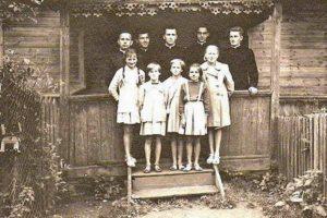 Klerycy wAndrzejewie, ok. 1955 r.
