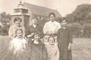 Kościół' ok. 1955 r.