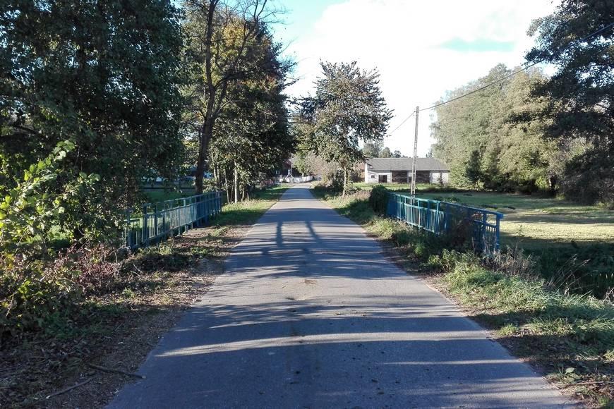 Most na Małym Broku w miejscowości Przeździecko Jachy