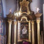 Odrestaurowany ołtarz Matki Boskiej Różańcowej