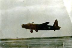 Samolot Wellington II SM -Z (Z8583), na którym Józef Zawistowski odbył swój ostatni lot