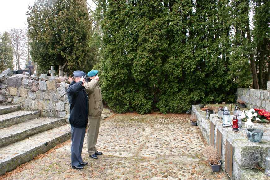 Wizyta oficerów z 18 Dywizji Zmechanizowanej w Andrzejewie
