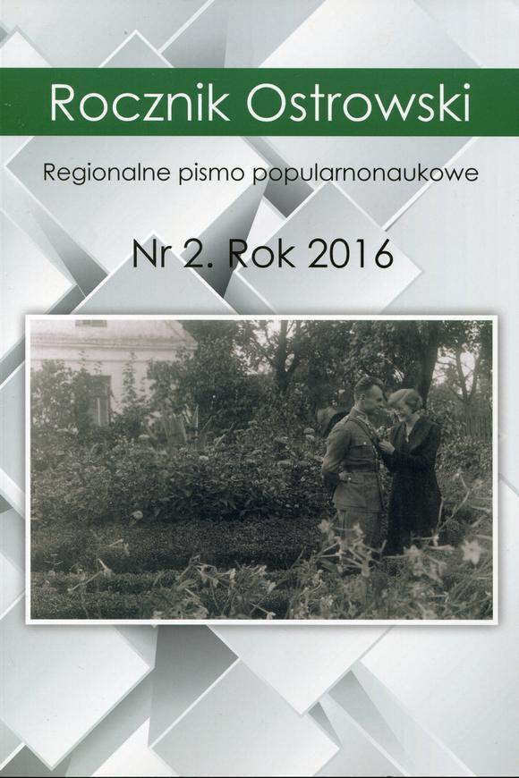 Rocznik Ostrowski nr 1 rok 2016