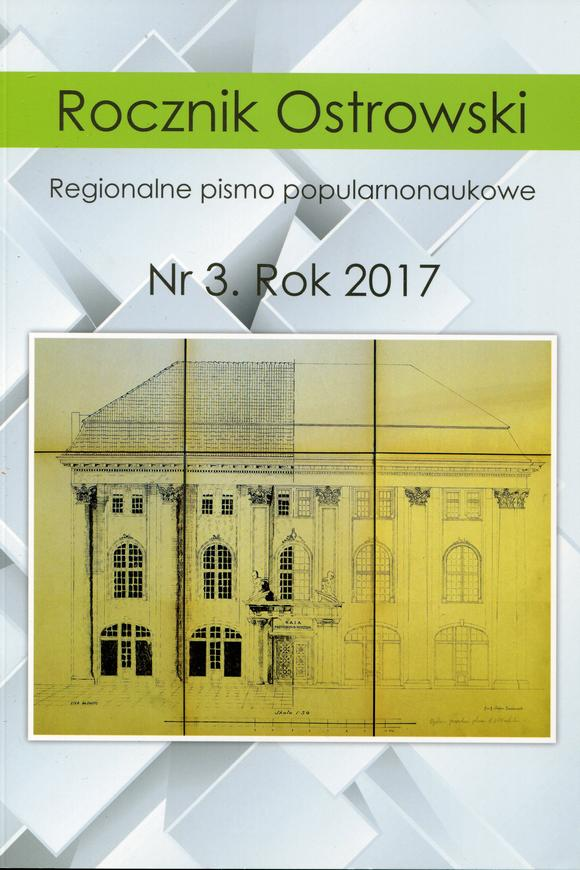 Rocznik Ostrowski nr3 rok 2017
