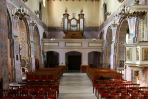Organy w kościele parafialnym w Andrzejewie