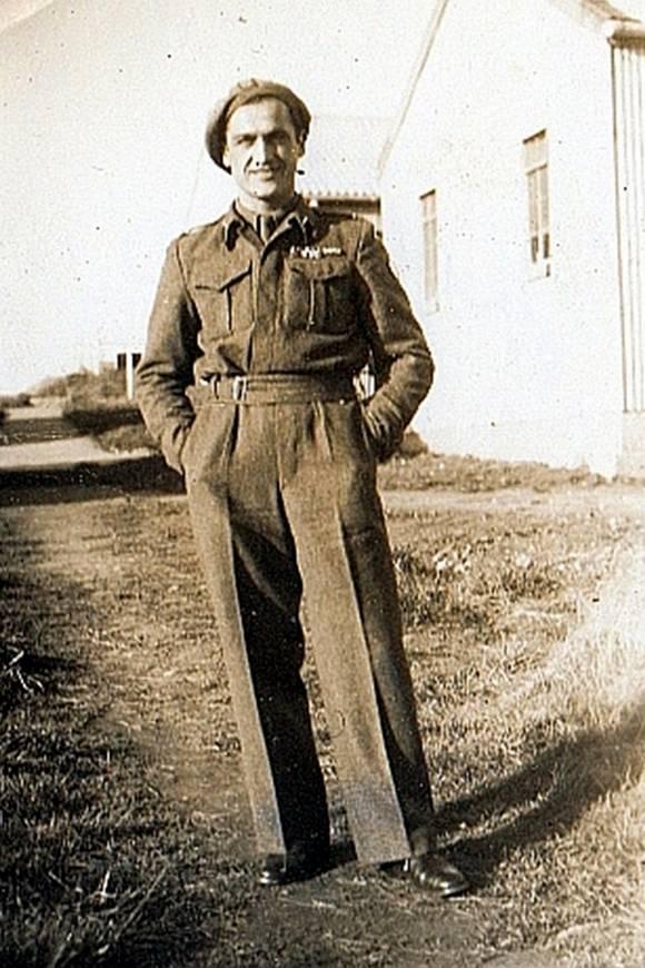 Henryk Cimoch podczas pobytu w Anglii