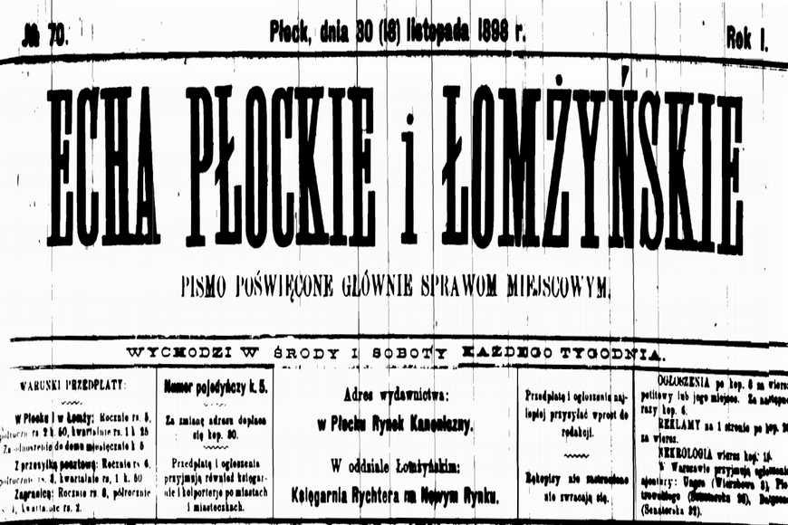Echa Płockie i Łomżyńskie