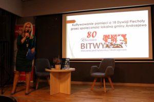 Spotkanie pasjonatów historii w Bibliotece Publicznej Gminy Andrzejewo