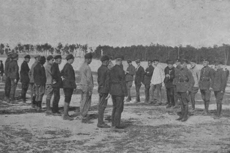 Z historii 201 pułku piechoty – szkolenie i uzbrojenie żołnierzy