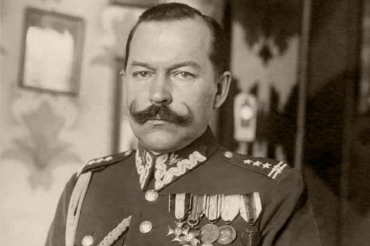 Dowódca 18 Dywizji Piechoty generał Stefan Kossecki