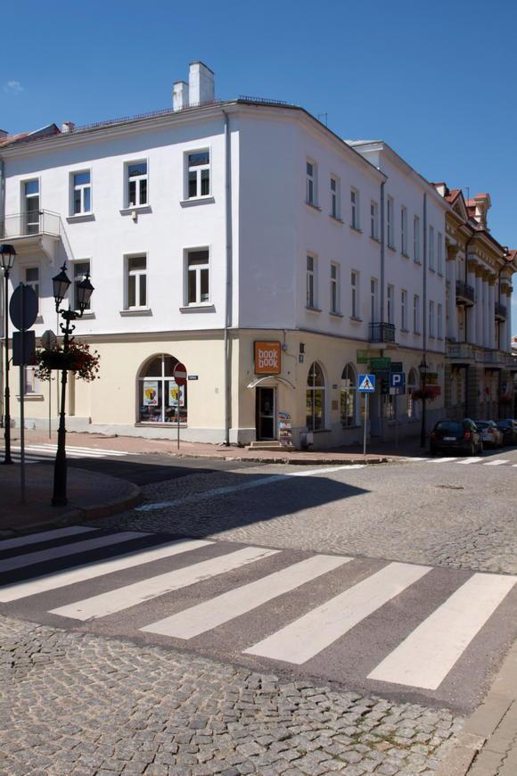 Budynek, wktórymznajdowała się Szkoła Handlowa wŁomży, doktórejodroku 1915 uczęszczał Stefan Wyszyński